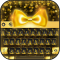 Golden Bowknot Keyboard