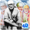 4D Sai Baba Live Wallpaper
