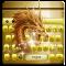 Gold Dragon Keyboard Theme