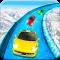 Frozen Water Slide Car Race: Aqua Park adventure