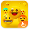 Happy Emoji Keyboard Sticker