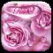 Rose waterdrops keyboard
