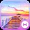 Beautiful Wallpaper SunSet Wharf Theme