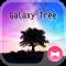 Beautiful Wallpaper Galaxy Tree Theme