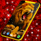 Gold King Lion Safari Live Wallpaper HD Themes