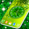 Leaves Clock App Forest Live Wallpaper Themes