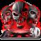 3D Tech Skull Launcher