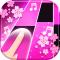 Flower Pink Piano Tiles