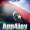 3D Libya Flag Live Wallpaper
