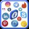 All Social Media Networks App