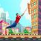 City bounce rope hero–Free offline adventure games