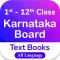 Karnataka Textbooks 1st to 12th Class