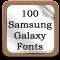 100 SamsungGalaxy Fonts